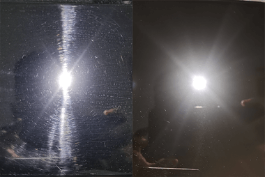 Service Surface defect removal